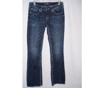Silver Aiko bootcut jeans W27/L33